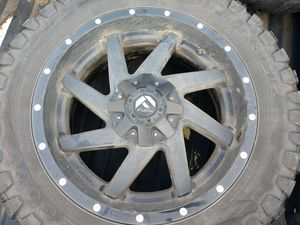"""20"""" Fuel wheels 6 lug off Chevy for Sale in Battle Ground, WA"""