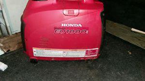 Honda EU 1000 generator for Sale in Portland, OR