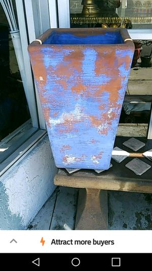 Tall square planter for Sale in Los Angeles, CA