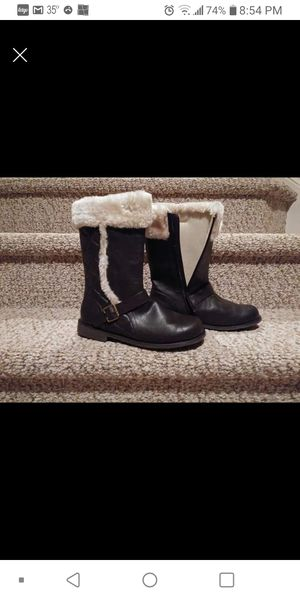 New Girls Size 4 Self Esteem Boots with Zipper and Soft Lining for Sale in Woodbridge, VA