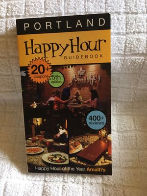 Portland Happy Hour Guide for Sale in Portland, OR