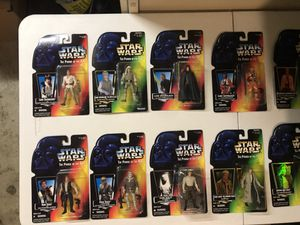 50 Brand new Kenner/Hasbro Star Wars Action Figures + extras for Sale in OH, US