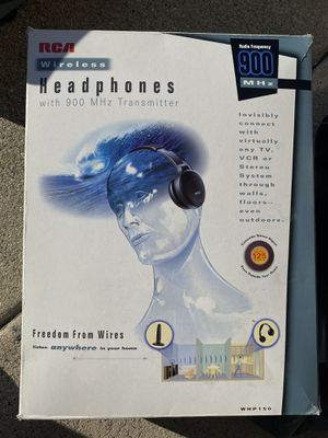 RCA WIRELESS TV/ BLUE RAY/ HOME STEREO HEADPHONES for Sale in Anaheim, CA