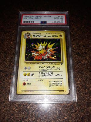 Pokemon Jolteon Japanese Jungle Set PSA10 GEM Mint for Sale in Queens, NY