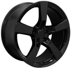 Camaro 20 inch black wheels rims new for Sale in Gibsonton, FL