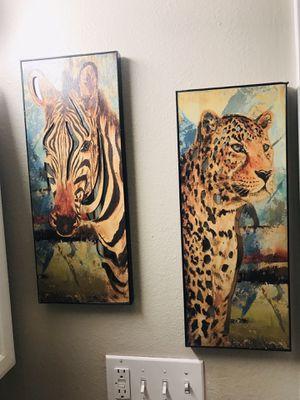 Safari decor wall art for Sale in Tacoma, WA