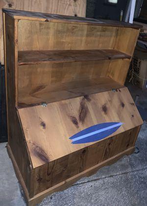 Bookshelf- chest for Sale in Lakeland, FL