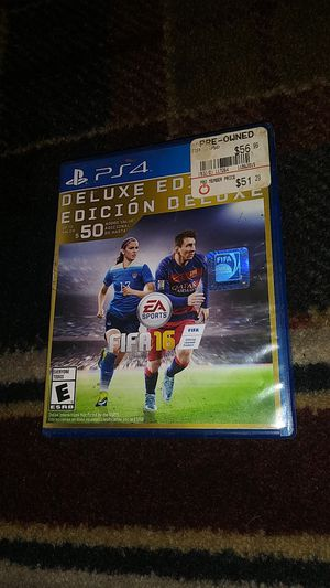 Fifa 16 - (USED) SONY Playstation 4 video game for Sale in Stockton, CA