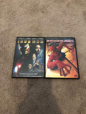 Marvel movie 2 Pack for Sale in Santa Clara, CA
