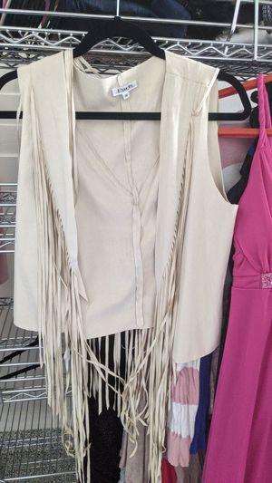 Size medium vest with fringe for Sale in Gilbert, AZ