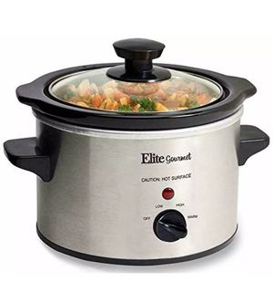 Electric Slow Cooker Small Crock Pot Mini Stainless Steel Cooking 1.5 Quart QT for Sale in Orlando, FL