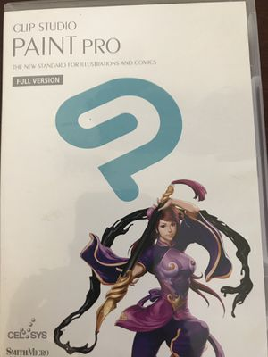 Clip Studio Paint Pro for Sale in St. Petersburg, FL