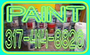 PAINT INTERIOR FLAT IN 5 GALLON BUCKETS for Sale in Indianapolis, IN