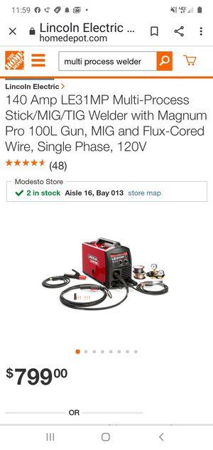 Multi process welder for Sale in Modesto, CA