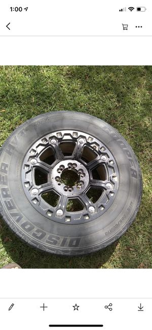 "18"" 6 lug universal rims. for Sale in Colfax, LA"