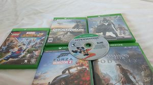 Xbox one games 30 dollars a game for Sale in Fort Worth, TX