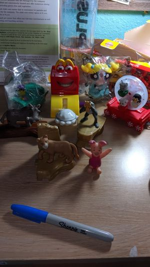 McDonald's collectibles toys lots of 8 for Sale in Pasadena, TX