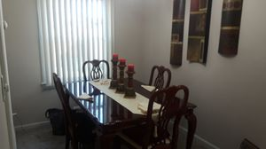 Table, Chairs and Buffet for Sale in Cleveland, OH