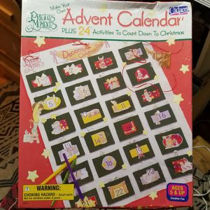 Precious Moments Advent Calendar Make your Own. Sealed VTG 2000. Christmas Xmas for Sale in Los Angeles, CA