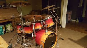 23 + piece Starclassic with hardware and cymbals and cases. Too much to list. 5500.00. for Sale in Aurora, CO