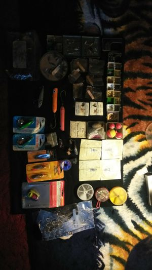 Vintage fly fishing lures etc for Sale in Orlando, FL
