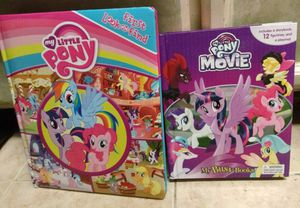 2- My Little Pony Board Books, Excellent used for Sale in Stockton, CA