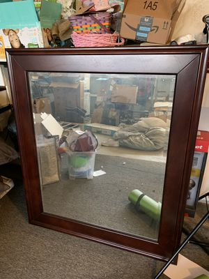 Wall Mirror wooden frame 41x35 for Sale in Anaheim, CA