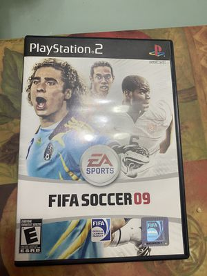 FIFA 09 ps2 for Sale in Houston, TX