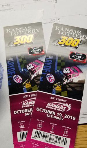 NASCAR TIX for Sale in Wichita, KS