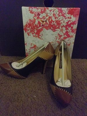 Chinese Laundry Real Leather Brown Heels for Sale in Las Vegas, NV