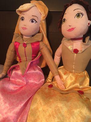 Disney belle and Arora doll for Sale in Apollo Beach, FL