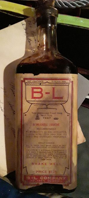 Antique B-L Company Medicine Bottle for Sale in St. Louis, MO