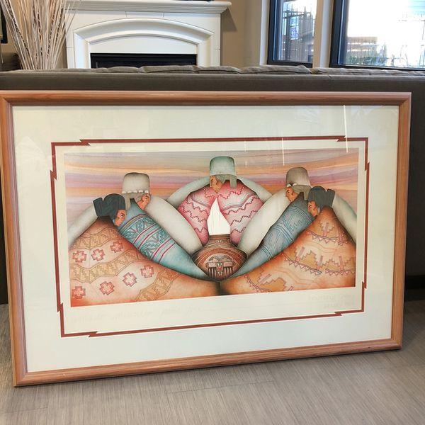 Custom framed art From Houshang's gallert