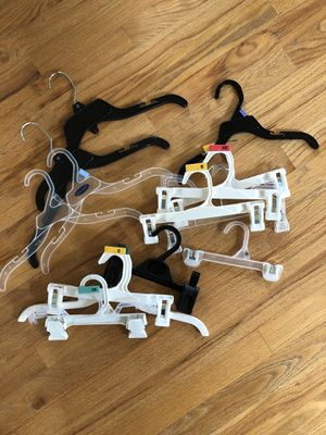 Assortment of coat hangers. Mainly child size for Sale in Wenatchee, WA