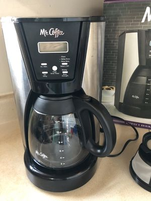 Mr. Coffee 12-Cup Programmable Coffee Maker for Sale in Sayreville, NJ