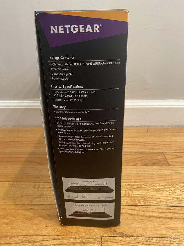 Netgear Nighthawk X6s Wifi Router