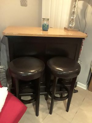 Personal Bar and two stools! for Sale in Chicago, IL