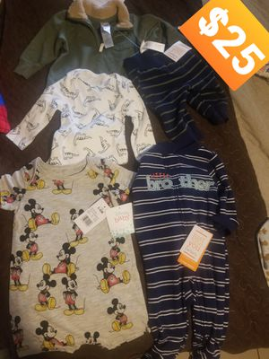 New w tags. Baby boy clothes size 3-6months for Sale in Bell, CA