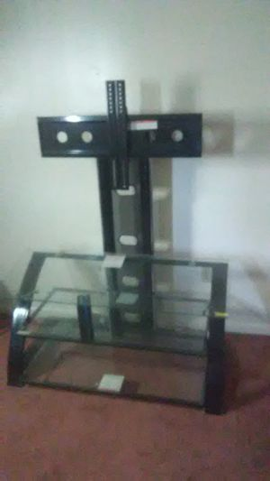 Metal and glass TV stand for Sale in Roanoke, VA