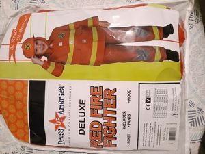 Fire fighter Costume New. for Sale in Phoenix, AZ