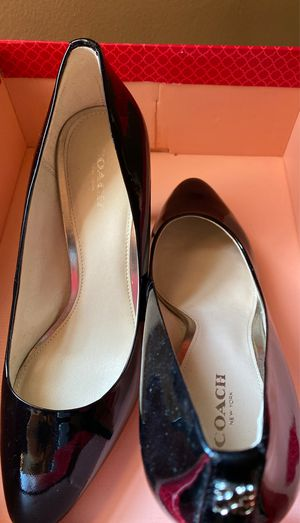 COACH shoes size 7.5 for Sale in Andover, MA