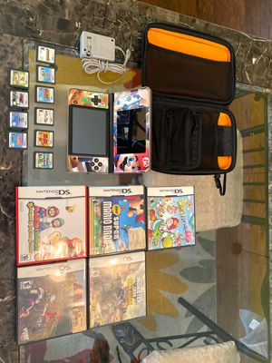Nintendo DSi XL with 10 Games for Sale in Norwalk, CA