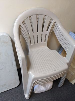 Plastic stackable chairs for Sale in San Diego, CA