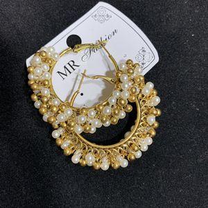pearl earrings . handmade for Sale in Arlington, VA