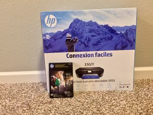 HP ENVY 5055 Wireless All-in-One Photo Printer, With 100 Sheets of photo paper FREE for Sale in Tyler, TX