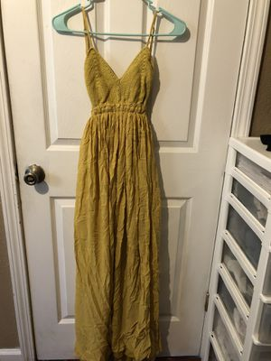 Mustard yellow dress for Sale in Pittsburg, CA