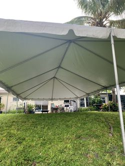Used Canopy/Tarp Only for a 20x40 Tent (frame NOT included) for Sale in Miami Lakes,  FL