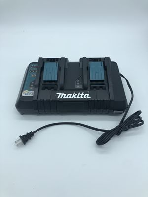 Makita 18V Lithium Zion Dual Port Rapid Optimum Charger for Sale in Palmdale, CA