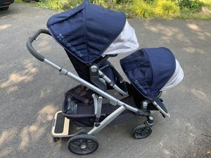 2017 Uppa Baby vista double stroller for Sale in Redmond, WA