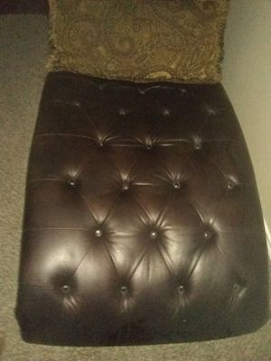 Leather chaise for Sale in Dallas, TX